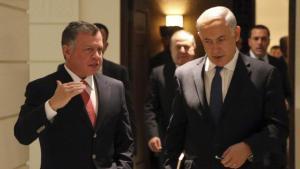 King Abdullah and PM Netanyahu.